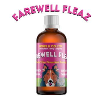 Farewell Fleaz 100ml: Flea Prevention for Dogs